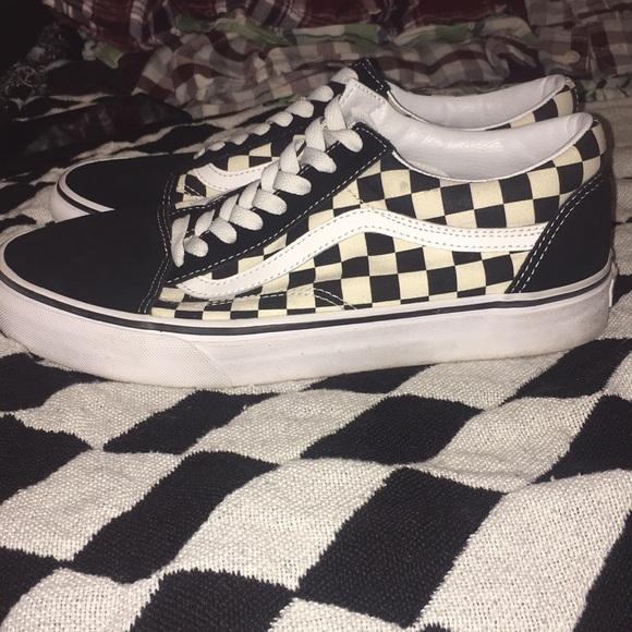 babe5f643c Old Skool Checkerboard Vans